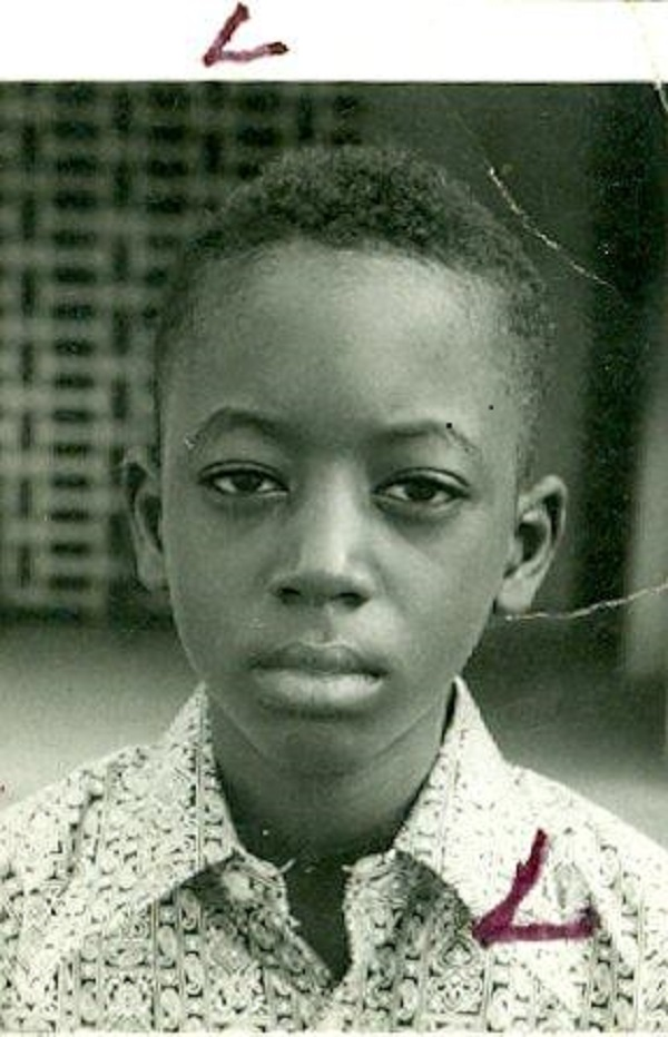 Emir Sanusi, as a primary school pupil