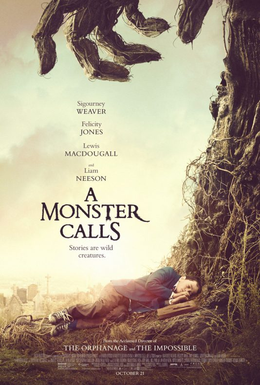A Monster Calls - Friday, October 21