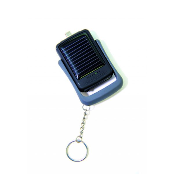 Solar Power Iphone Charger Keychain