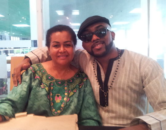 Banky W and mother