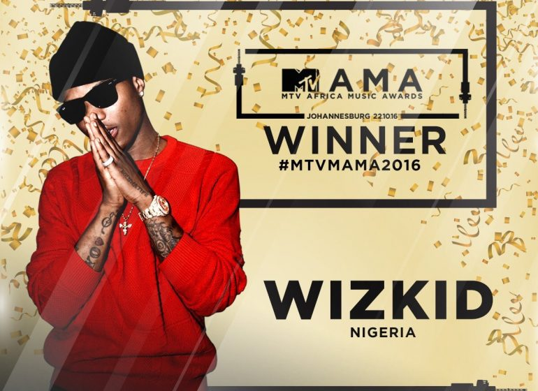 Wizkid is African artiste of the year