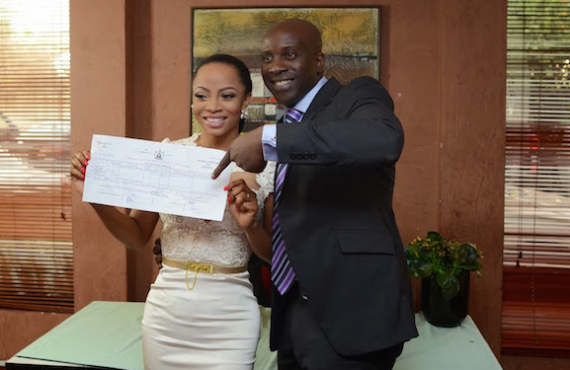 Toke Makinwa and Maje Ayida's marriage | TheCable.ng