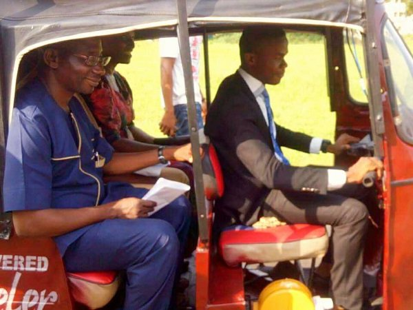 FUTO final year student designs tricycle