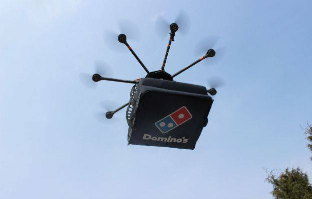 Pizza delivered by drone | TheCable Lifestyle