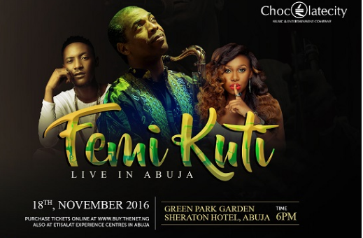 Femi Kuti Live in Abuja | TheCable Lifestyle