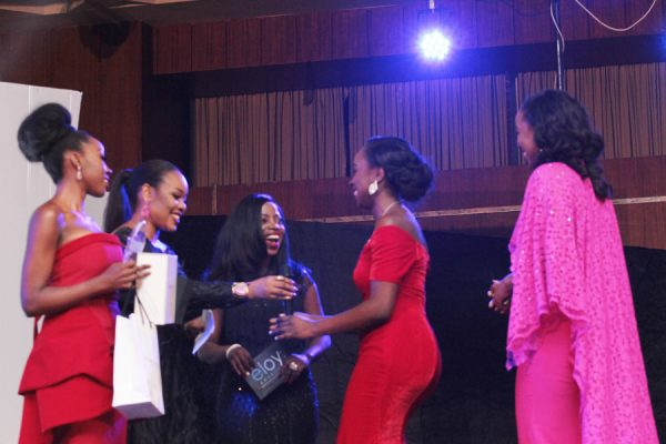 Ato Thompson and Olive Emodi, TV presenters of the year