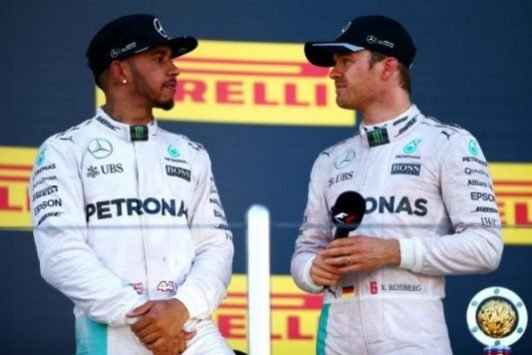 Hamilton: Backing-up Rosberg