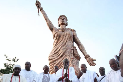 Moremi Ajasoro statue in Ile-Ife | TheCable Lifestyle