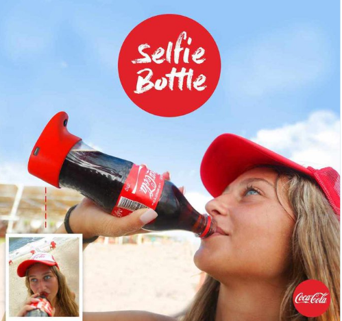 Coke creates selfie bottle | TheCable Lifestyle