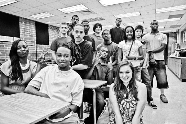 Students of Edward H.White High School, Jacksonville, Florida, U.S.