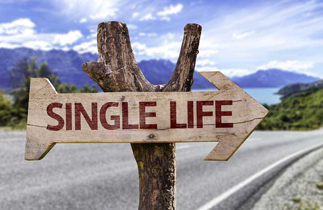 Being single is bliss
