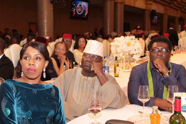 From left: Mrs. Wunmi Ogunbiyi; her husband, Mr. Yemi and Prince Eze Madumere.