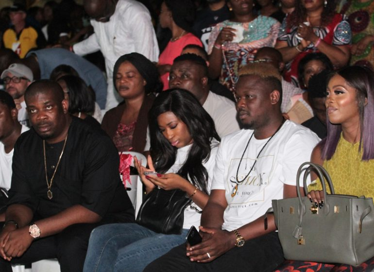 Don Jazzy, Tiwa Savage, Dr. Sid and wife at The Experience 2016 | TheCable Lifestyle
