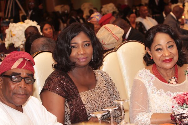 From left: Dr. John Odeyemi; Senior Special Assistant on Foreign Affairs and the Diaspora to the Presidency; Hon. Abike Dabiri Erewa and President, Lagos Chamber of Commerce, Chief (Mrs) Nike Akande.