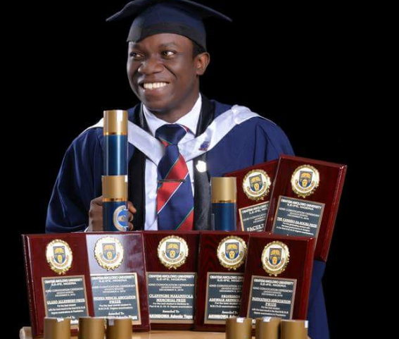 Adeolu Tope Akinbowa emerged best overall graduating student in OAU | TheCable Lifestyle