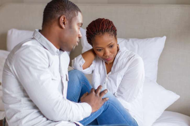 Couple struggling with infertility | TheCable Lifestyle