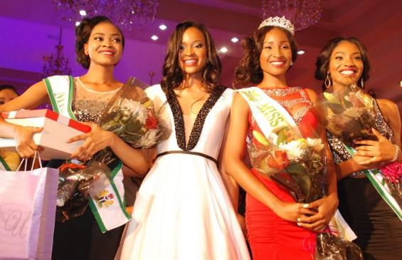 Miss Nigeria 2015, Pamela-Peter Vigboro Leesi and Miss Nigeria 2014 Ezinne-Akudo