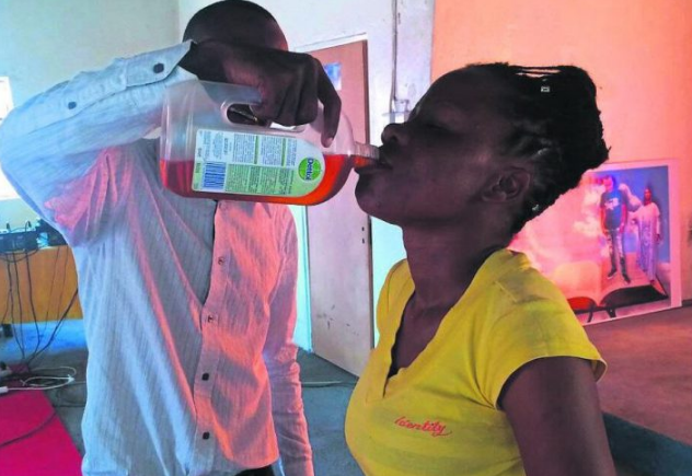 South African pastor gives members Dettol to drink | TheCable Lifestyle