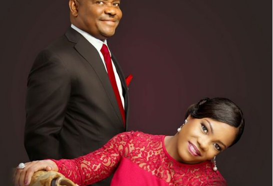 Nyesom Wike and wife, Justice Suzzette | TheCable Lifestyle
