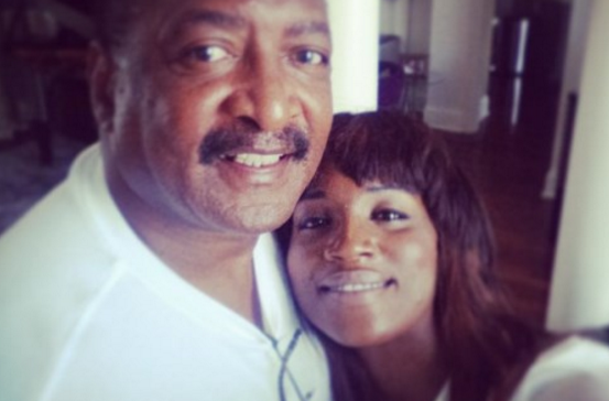 Seyi Shay and Matthew Knowles | TheCable Lifestyle