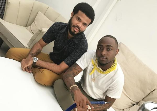 Davido and first manager, Asa Asika, reunite | TheCable.ng