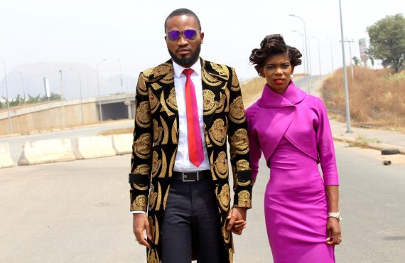PHOTOS: Nigerian designer 'recreates' Trump, Melania's inauguration attires