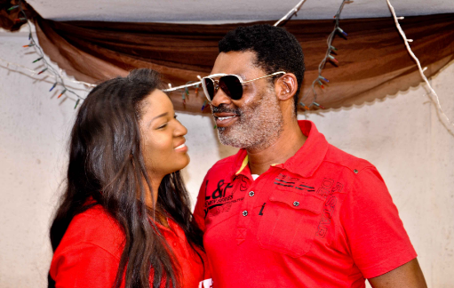 Omotola Jalade Ekeinde and husband | TheCable.ng
