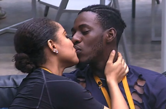 Soma and Gifty lock lips | TheCable.ng