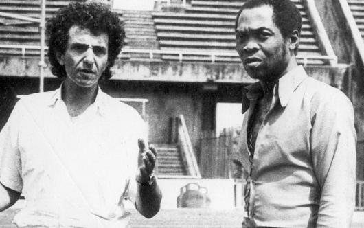 Rikki Stein and Fela in the '70s | TheCable.ng