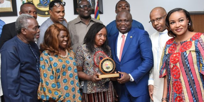 Ambode says National Theatre will be ready for AMAA 2017 | TheCable.ng