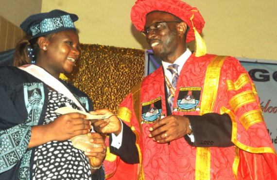 Lady who wrote UTME 7 times is best graduating student…