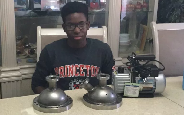 Steven Udotong builds nuclear fusor | TheCable.ng
