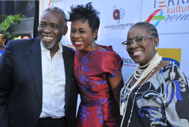 Bolanle, Olu Jacobs, and Joke Silva at Terra Kulture Arena   TheCable.ng
