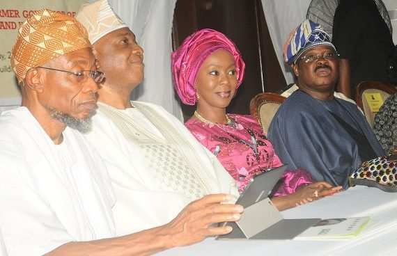PHOTOS: Saraki, Ambode, Aregbesola attend lying-in-state of Adebayo