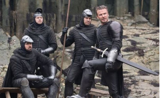 King Arthur: David Beckham's Cameo Unveiled in a New Excerpt