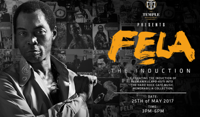 Fela up for induction into Hard Rock music memorabilia collection | TheCable.ng