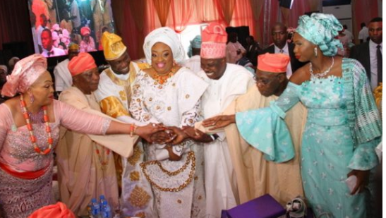 Obasanjo's son weds daughter of Baba Ijebu | TheCable.ng