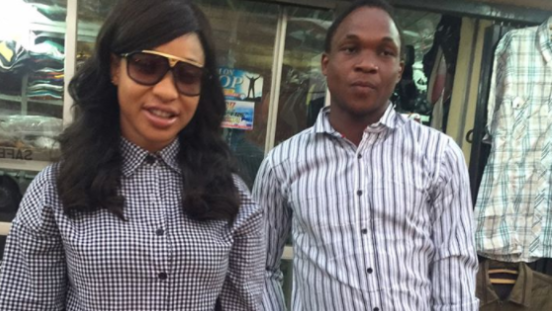 Tonto Dikeh rescues robbery victim | TheCable.ng
