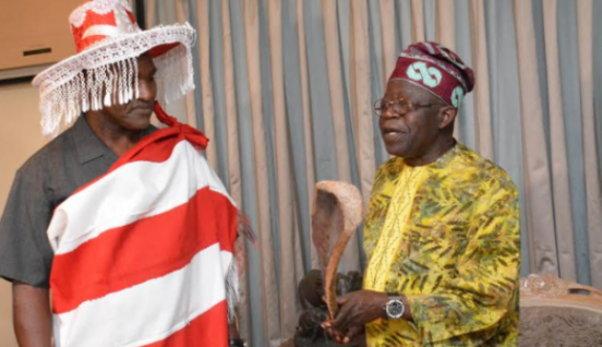 Holyfield visits Tinubu ahead of boxing match | TheCable.ng