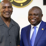 Ambode hosts Evander Holyfield | TheCable.ng