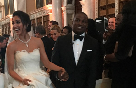 Alakija's son throws the 'most lavish wedding ever'