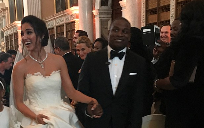 How Alakija's son lavished N2 billion in a wedding bash in UK