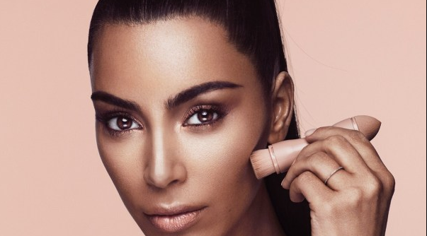 Kim Kardashian's debut makeup line sells out in minutes