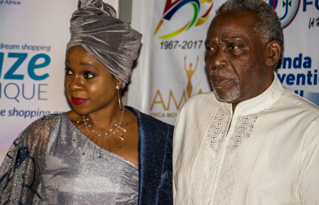 Olu Jacobs and Bolanle Austen-Peters