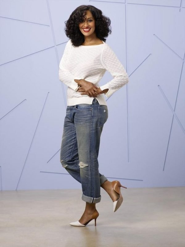 "BLACK-ISH - ABC's ""black-ish"" stars Tracee Ellis Ross as Rainbow Johnson. (ABC/Bob D'Amico)"