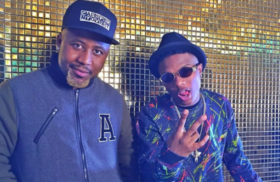 Cassper Nyovest and Wizkid | TheCable.ng