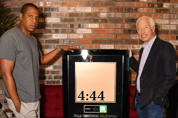 Jay-Z's '4:44: Album Goes Certified Platinum Within a Week