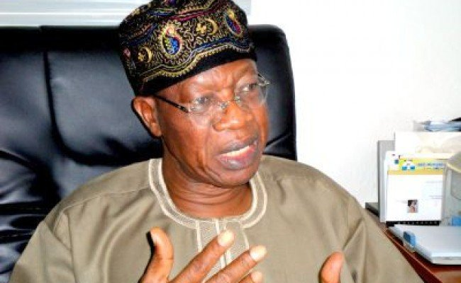 I Didn't Say I'll Ban Nigerian Videos Production Overseas - Lai Mohammed