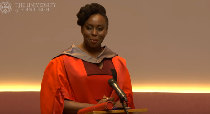 Adichie receives honorary degree at University of Edinburgh | TheCable.ng