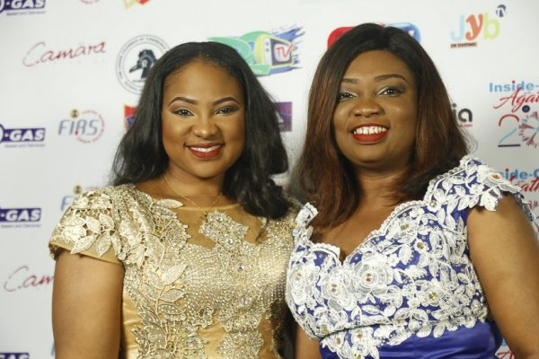 Shimite Bello and Agatha Amata